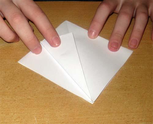 Ирис из бумаги.