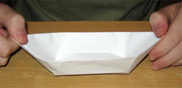 Оригами Лодка
