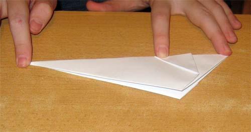 Изготовление оригами Мышка.