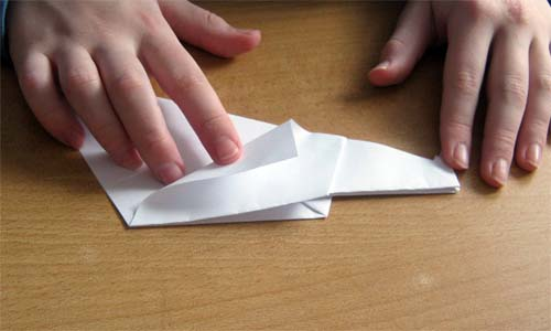 Схема оригами Утка.