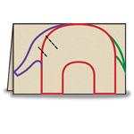 Как сделать бумажных слонов